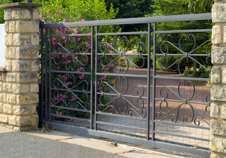 Secured Front Gate